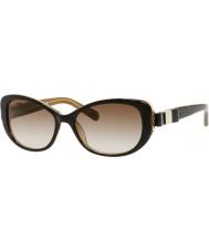Kate Spade New York Signore Chandra-s y1g Y6 avana occhiali da sole d'oro