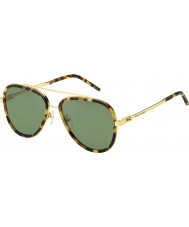 Marc Jacobs Mens marc 136-s lsh dj macchiato occhiali da sole d'oro avana