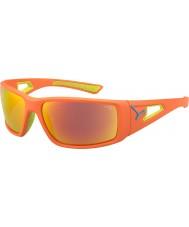Cebe arancione sessione di calce 1500 occhiali da sole arancione specchio grigio