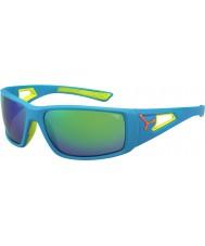 Cebe Sessione blu arancio 1500 grigio specchio occhiali da sole verde