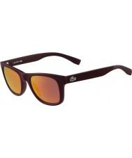 Lacoste occhiali da sole bordeaux opaco L790s