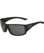 Bolle Notechis scutatus nero lucido TNS occhiali da sole polarizzati