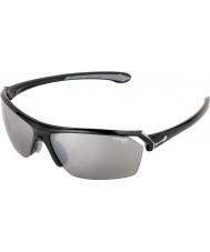 Cebe occhiali da sole neri lucenti selvaggio