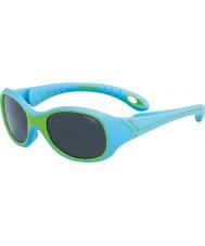 Cebe S-Kimo (età 1-3) occhiali da sole verde blu