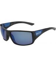 Bolle Notechis scutatus nero opaco blu polarizzata occhiali da sole blu off-shore lucidi