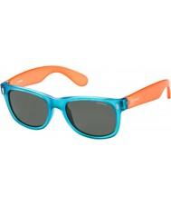 Polaroid Bambini p0115 occhiali da sole 89T Y2 blu arancio polarizzati