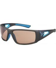 Cebe Sessione opachi occhiali da sole Perfo grigio blu variochrom