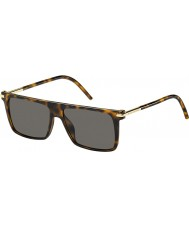 Marc Jacobs Mens marc 46-S TLR occhiali da sole 8h avana