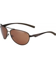 Bolle Columbus opaco marrone occhiali da sole polarizzati pistola arenaria