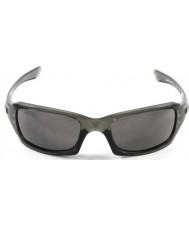 Oakley Oo9238-05 cinque quadrato grigio fumo - occhiali da sole grigi caldi