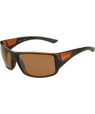 Bolle Notechis scutatus nero opaco marrone polarizzato gli occhiali da sole di arenaria pistola lucidi