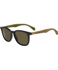 HUGO BOSS Uomo capo 0843-s RBG CE occhiali da sole marroni nere