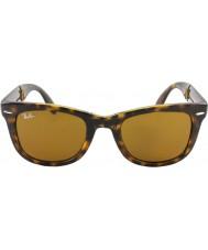 RayBan RB4105 50 pieghevole luce viandante di tartaruga 710 occhiali da sole