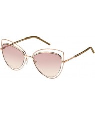 Marc Jacobs Donne marc 8-s txa 05 occhiali da sole oro marrone