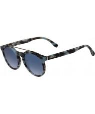 Lacoste occhiali da sole avana azzurre L821s