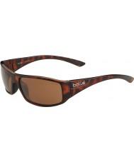 Bolle Tessitore tartaruga lucido polarizzata A-14 gli occhiali da sole