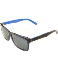 Polo Ralph Lauren Ph4098 57 di vita casuale trasparente blu 556387 occhiali da sole