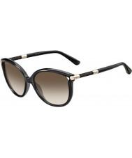 Jimmy Choo Donna GIORGY-s qcn JD occhiali da sole grigio scuro