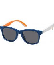 Polaroid Bambini pld8001-s t20 Y2 blu occhiali da sole polarizzati