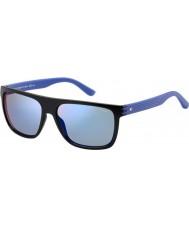 Tommy Hilfiger Mens ° 1277-s fb1 23 occhiali da sole blu nero