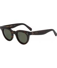 Celine Donne cl 41375-s 086 85 occhiali da sole scuri avana