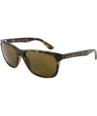 RayBan Rb4181 luce 57 highstreet di tartaruga 710-83 occhiali da sole polarizzati