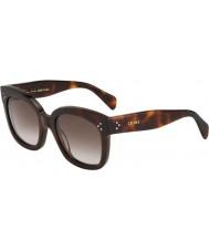 Celine Donne cl 41805 s-05L ha tartaruga occhiali da sole