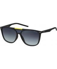 Polaroid Pld6024-s DL5 WJ opaco occhiali da sole polarizzati neri