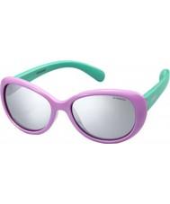 Polaroid Bambini pld8004-s t5f jb lilla occhiali da sole polarizzati