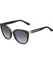 Jimmy Choo Signore dana-s 10e hd occhiali da sole neri