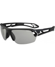 Cebe media S-track opachi occhiali da sole Perfo variochrom nero