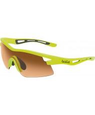 Bolle Vortex neon occhiali da sole color ambra gialla modulatore