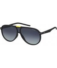 Polaroid Pld6025-s DL5 WJ opaco occhiali da sole polarizzati neri