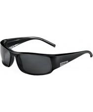 Bolle Re nero lucido polarizzato TNS occhiali da sole