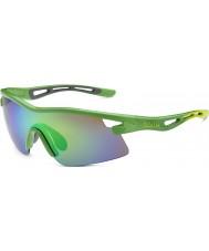 Bolle Edizione limitata vortice Orica verde smeraldo occhiali da sole marroni
