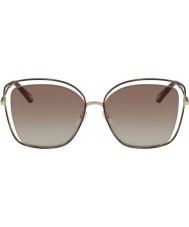 Chloe Signore ce133s 205 60 occhiali da sole color papavero