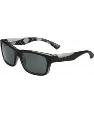 Bolle Jude opaco argyle nero bianco TNS occhiali da sole polarizzati