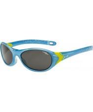Cebe Cricket (età 3-5) cristallo occhiali da sole blu calce