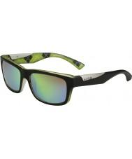 Bolle Jude opaca calce nero occhiali da sole polarizzati smeraldo marrone