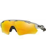 Oakley Oo9208-02 ev radar percorso argento - gli occhiali da sole di fuoco Iridium