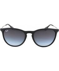 RayBan occhiali da sole 622-8g nero Rb4171 gomma 54 erika