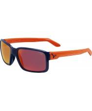 Cebe lucidi occhiali da sole blu arancio tizio
