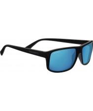 Serengeti Claudio raso grigio scuro polarizzato 555nm occhiali da sole blu a specchio