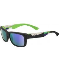 Bolle Jude opachi occhiali da sole blu-violetto nero