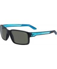 Cebe Amico opaco nero cristallo blu occhiali da sole