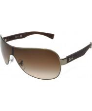 RayBan Rb3471 32 giovane opaco canna di fucile 029-13 gli occhiali da sole