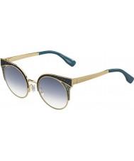 Jimmy Choo Donne psx U3 oro Ora-s militari occhiali da sole verdi