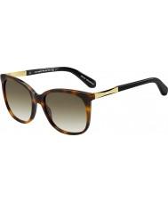 Kate Spade New York Signore Julieanna-s CRX cc scuri occhiali da sole d'oro avana