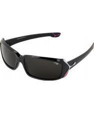 Cebe Rossetto (età 9 plus) nero lucido 2000 grigi occhiali da sole