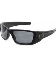 Oakley opaca celle a combustibile Oo9096-05 nero - grigio occhiali da sole polarizzati